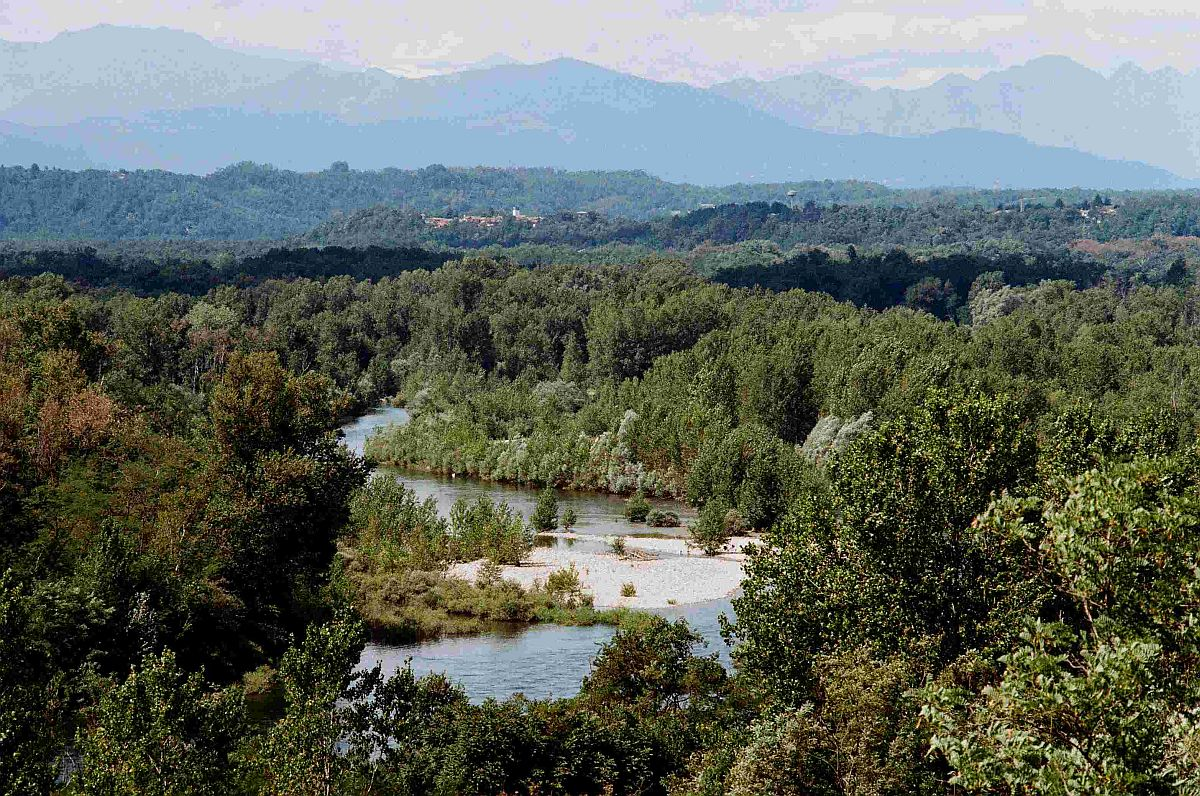 Punto panoramico Tornavento Parco Ticino