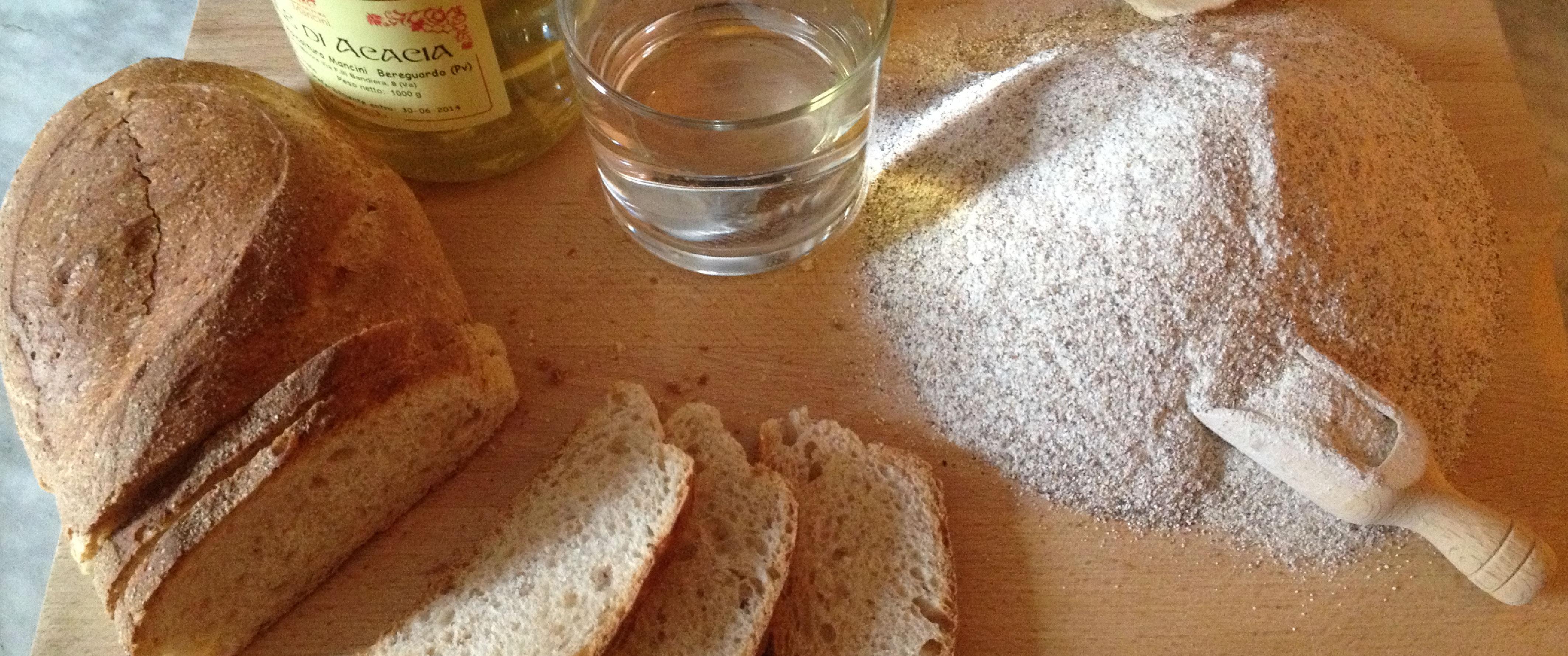 Pane a pasta madre della bottega ex Dogana