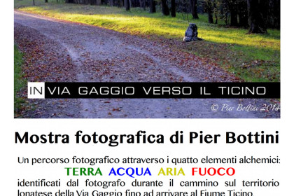 In via gaggio. Mostra fotografica di Pierluigi Bottini
