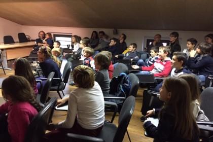 attività bambini in sala conferenze centro parco ex dogana