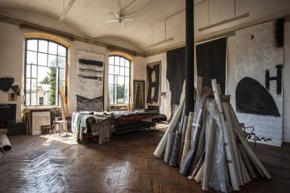 Studio d'arte di Azelio Corni, fotografia di Andrea Penzo