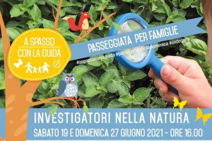 investigatori nella natura